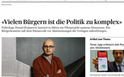 """""""Vielen Bürgern ist die Politik zu komplex"""""""