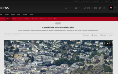 """Cittadini che informano i cittadini"""