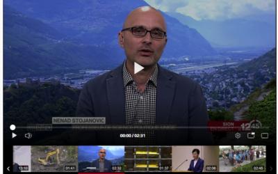 """""""Sion commune pilote pour un projet nommé Demoscan, en marge des votations fédérales du 9.2.2020. Explications Nenad Stojanovic"""""""