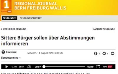 """""""Sitten: Bürger sollen über Abstimmungen informieren"""""""