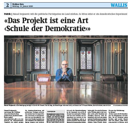 «Das Projekt ist eine Art ‹Schule der Demokratie›»