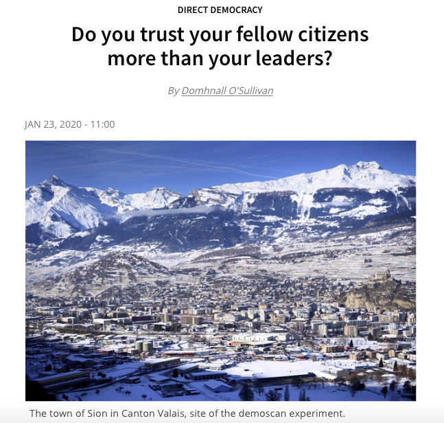 Do you trust your fellow citizens more than your leaders?